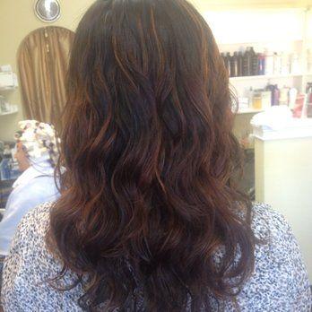 Digi Perm Back View Yelp Digital Perm Long Hair Styles Perm