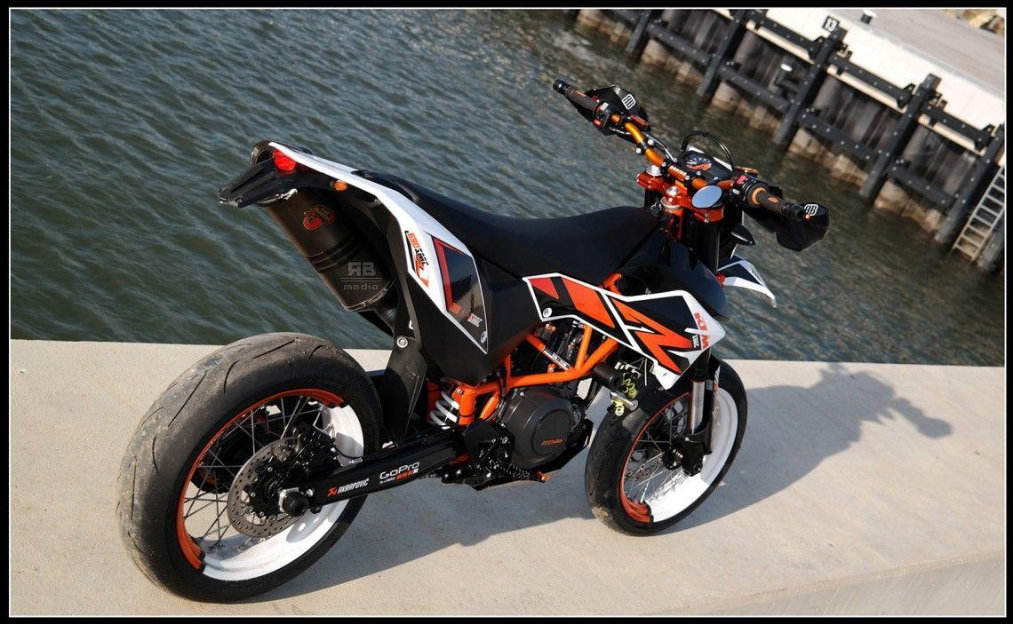 Supermoto ktm 690 stunt concept bikemotorcycletuned car tuning car - Ktm 690 Smc R_42 1140x703 Jpg 1140 703