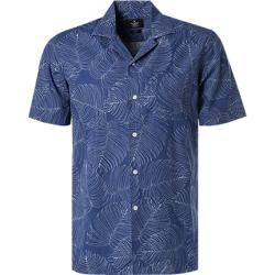 Photo of Hackett summer shirt men, blue Hackett
