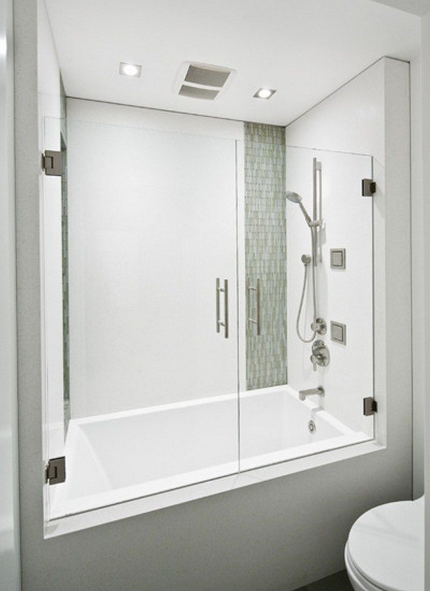 99 Small Bathroom Tub Shower Combo Remodeling Ideas (10) | Hall bath ...