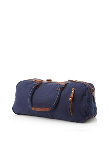 61% OFF J. Campbell Los Angeles Men's Washed Canvas Duffle (Navy)