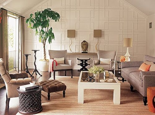 Zen Living Room Design De Clutter Color And Furniture