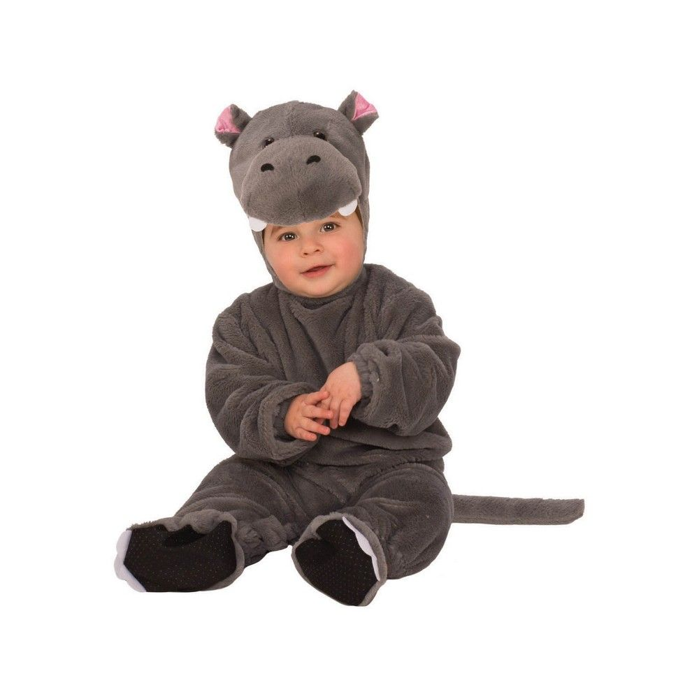 Infant Toddler Baby Hippo Hippopotamus Animal Costume