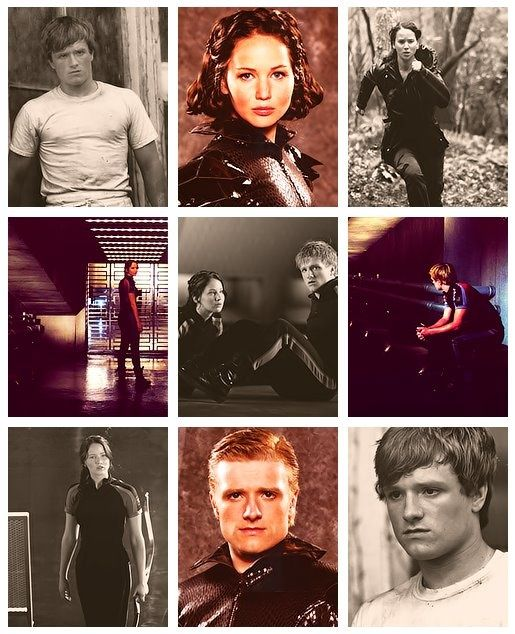 love this collage. | Hunger games, Katniss, Hunger