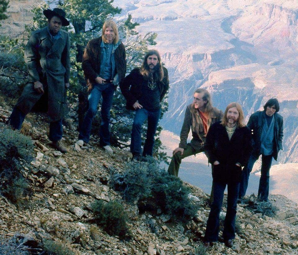 Allman Brothers Band A Twiggs Lyndon Photo Taken At Grand Canyon In Arizona January Of 1970 During The Band S Allman Brothers Band Allman Brothers Pictures