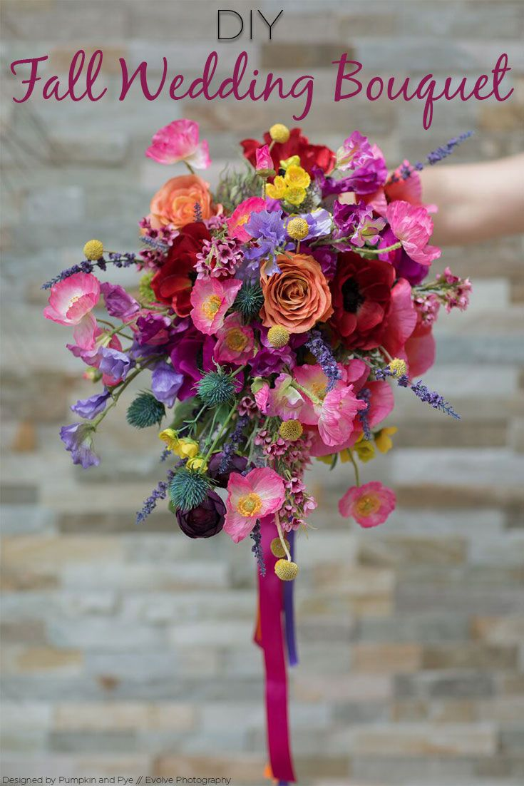 Silk wedding bouquet silk flowers diy wedding and tutorials planning a diy fall wedding this bouquet tutorial is just what you need make your own wedding bouquet with silk flowers your bouquet will look fresh and izmirmasajfo