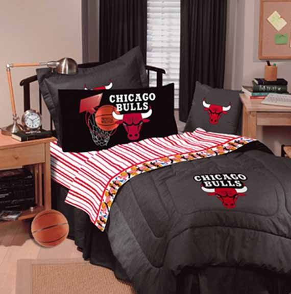 Image Detail For Chicago Bulls Basketball Junior Bedroom Interior Design Beautiful