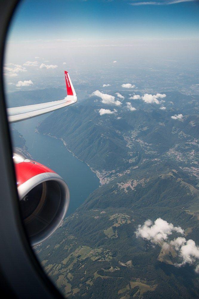 Abflug Mailand