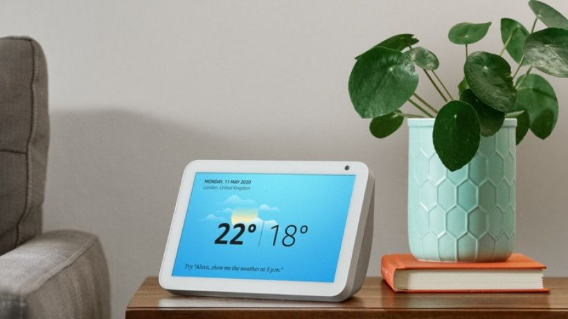 Can You Watch Netflix On Echo Show Echo Show 8 Enters Amazon S Smart Display Line Up First There Were 10 Then There Were 5 And Now There Are 8 Inches For The Smart Home Control Echo Display