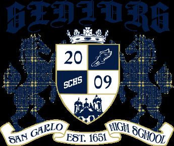IZA DESIGN custom senior class shirts.  Custom senior class T-Shirt Design - Mustang Crest 2 (clas-944m1).  The original school shirt company since 1987.  Go Class of 2017!