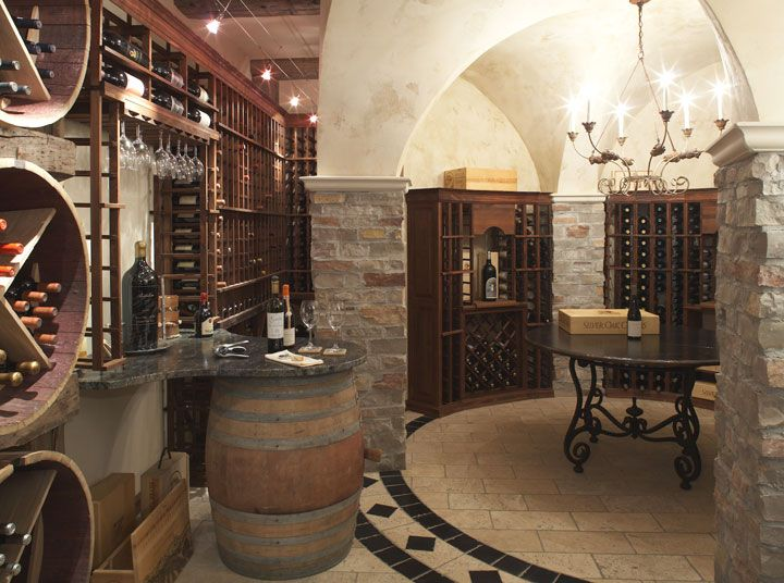 The Tasting Room Wine Cellar Design Wine House Traditional