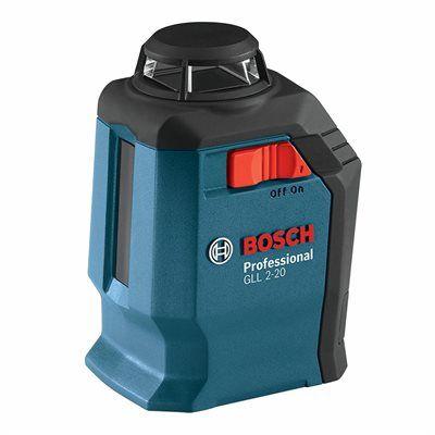 Bosch Laser Level Gll 2 20 Self Leveling 360 Deg Horizontal Cross Line Laser Level Up Line Application Line