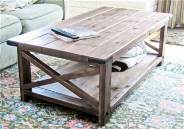 Learn To Build Simple Coffee Table Smart Home Decorating Ideas