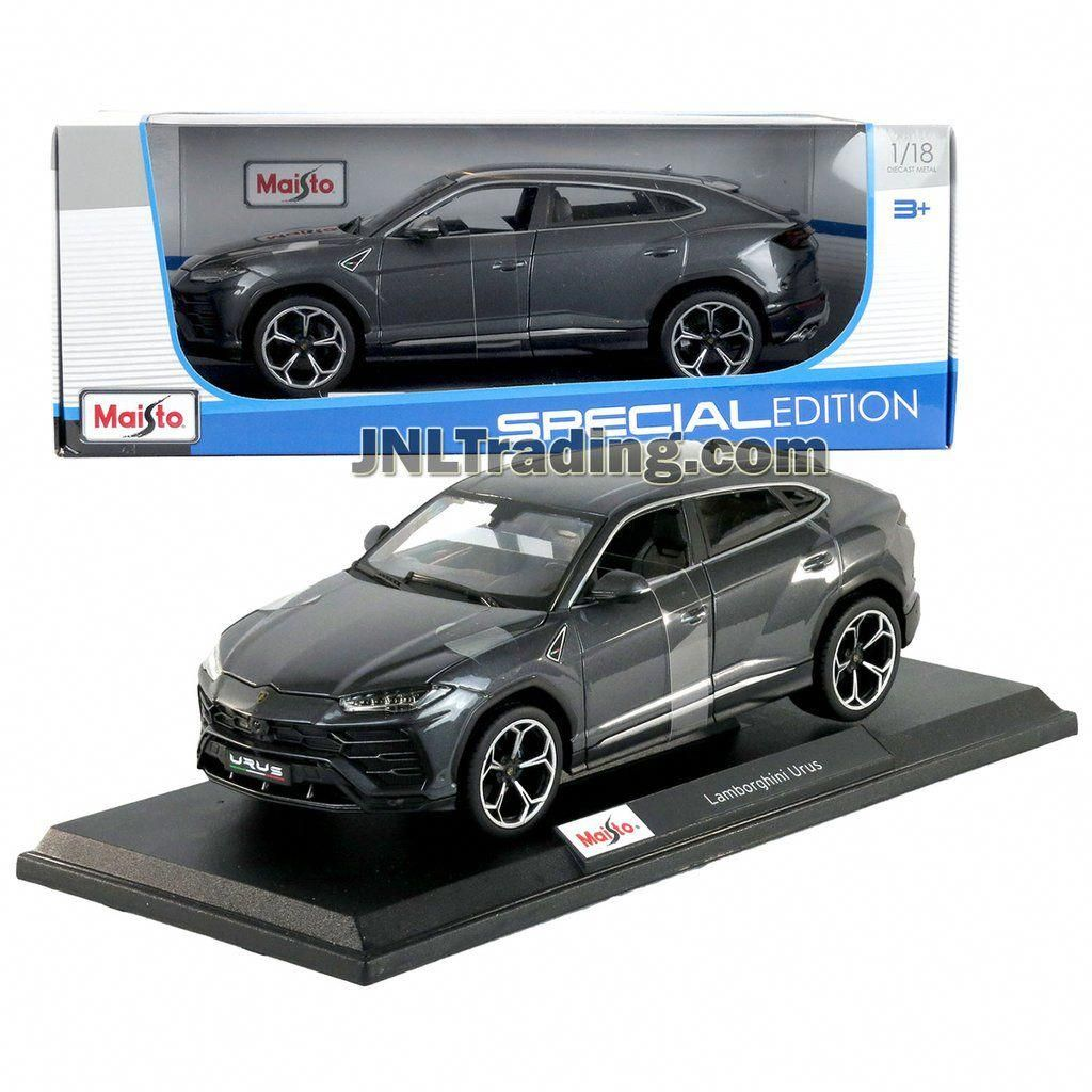 Maisto Special Edition Series 1 18 Scale Die Cast Car Dark Grey Mid Size Luxury Crossover Suv Lamborghini Urus W Dis Crossover Suv Diecast Luxury Crossovers