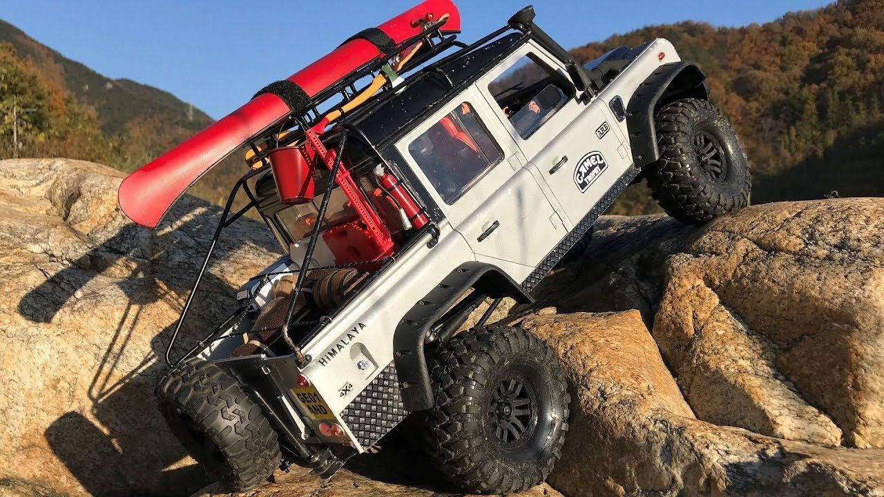 Rc Land Rover Defender Karosserie : traxxas trx4 defender d110 hard body l autumn landscape defender rc land rover and idea 39 s ~ Aude.kayakingforconservation.com Haus und Dekorationen