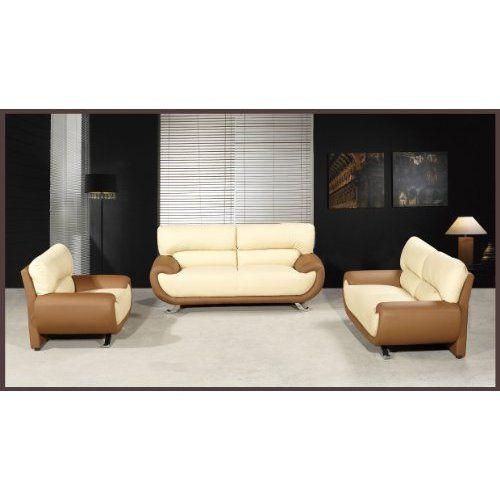 Love This Sofa Set Sadina 3 Pc Faux Leather Modern Sofa Set