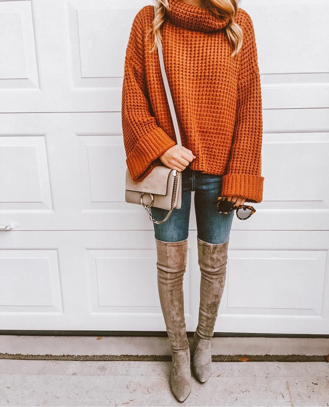6c85e83baaa7  hotseller  bestselling  sweater  sweaterweather  knitwear  ootd   outfitinspo  fall  falloutfits  causaloutfit  overthekneeboots  boots   outfitideas  lovegm ...