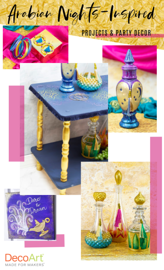 Arabian Nights-Inspired Projects | Projects, Diy party ...