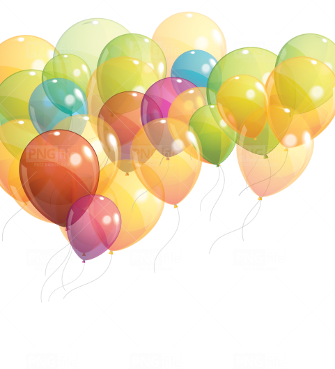 Birthday Balloons Png Free Download Balloon Background Balloons Balloon Illustration