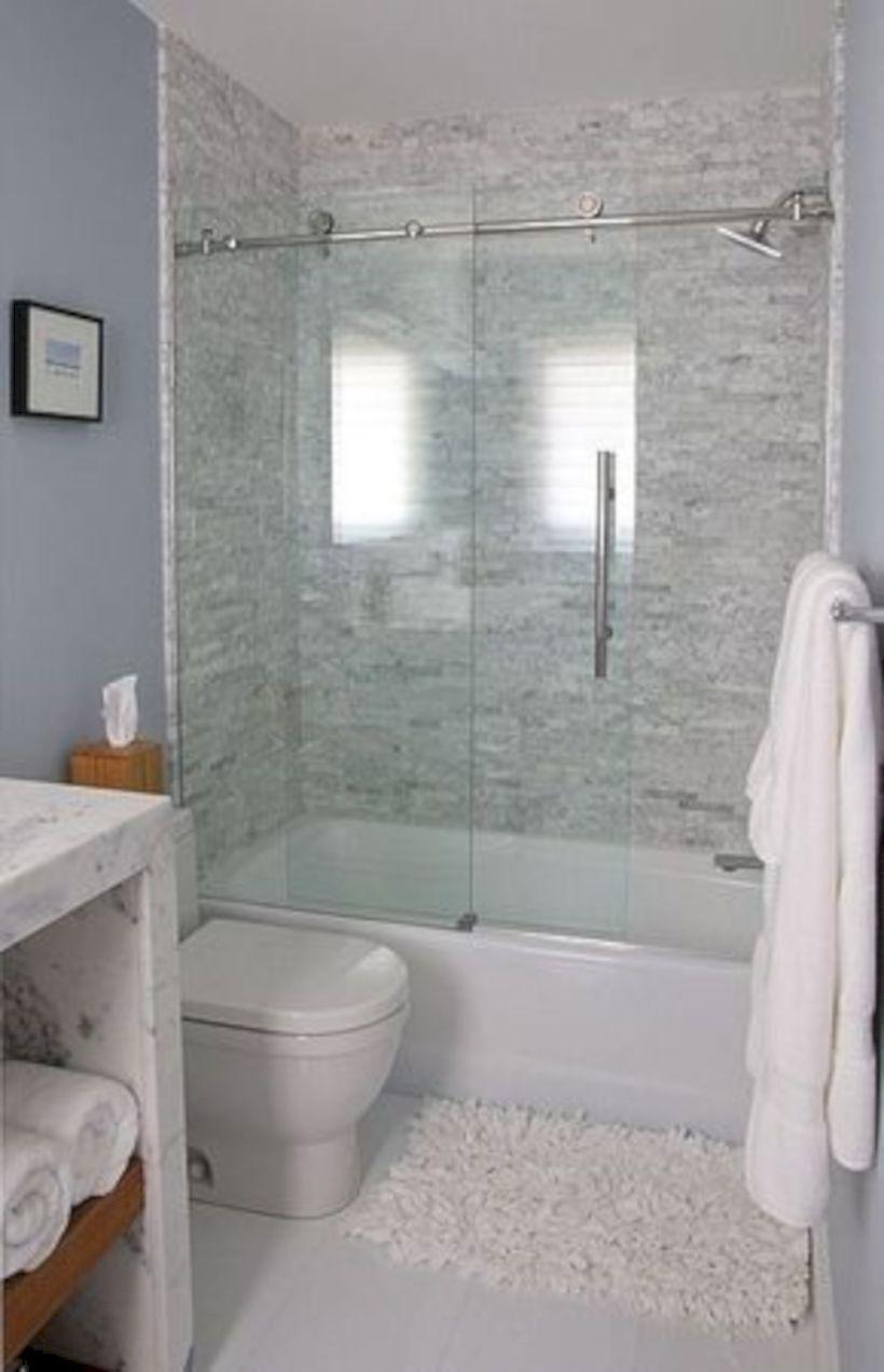 50 Beautiful Bathroom Frameless Shower Glass Enclosure Matchness Com Bathroom Tub Shower Bathtub Shower Combo Bathrooms Remodel
