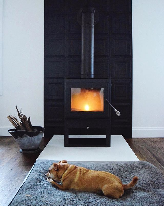 Pin By Annet Van Zwamburg On Barcus House Dream House Plans Small House Design Wood Stove Heat Shield