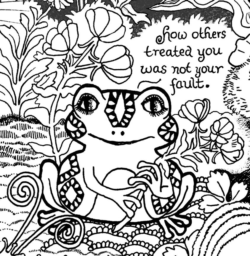 A Message for Trauma Survivors from Forest Creatures