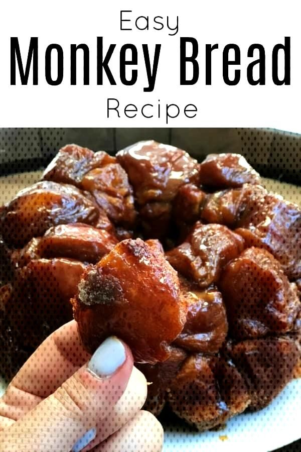 The easiest Monkey Bread Recipe
