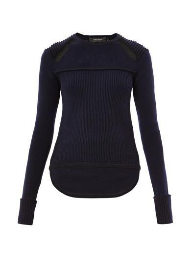Blaze ribbed-knit sweater | Isabel Marant | MATCHESFASHION.COM