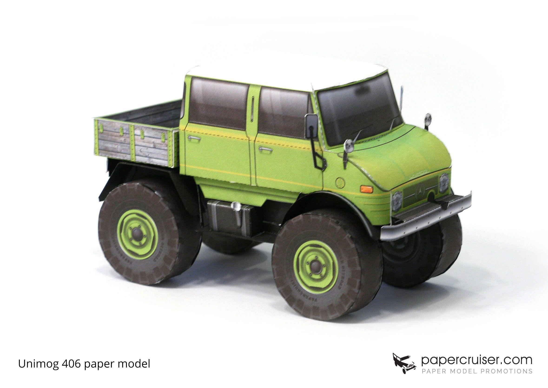 Unimog 406 Paper Model