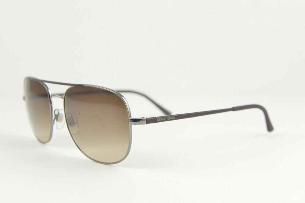 f80cd812f110 GIORGIO ARMANI men s aviator sunglasses AR 6012-Q 3010 13 56-18 140 3N  Brown  fashion  clothing  shoes  accessories  unisexclothingshoesaccs ...