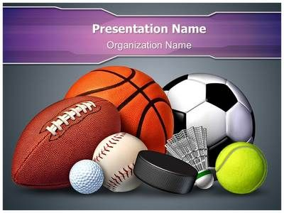 sports ball powerpoint template is one of the best powerpoint