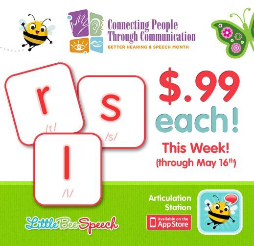 Little Bee Speech's Articulation Station /r/, /s/, and /l