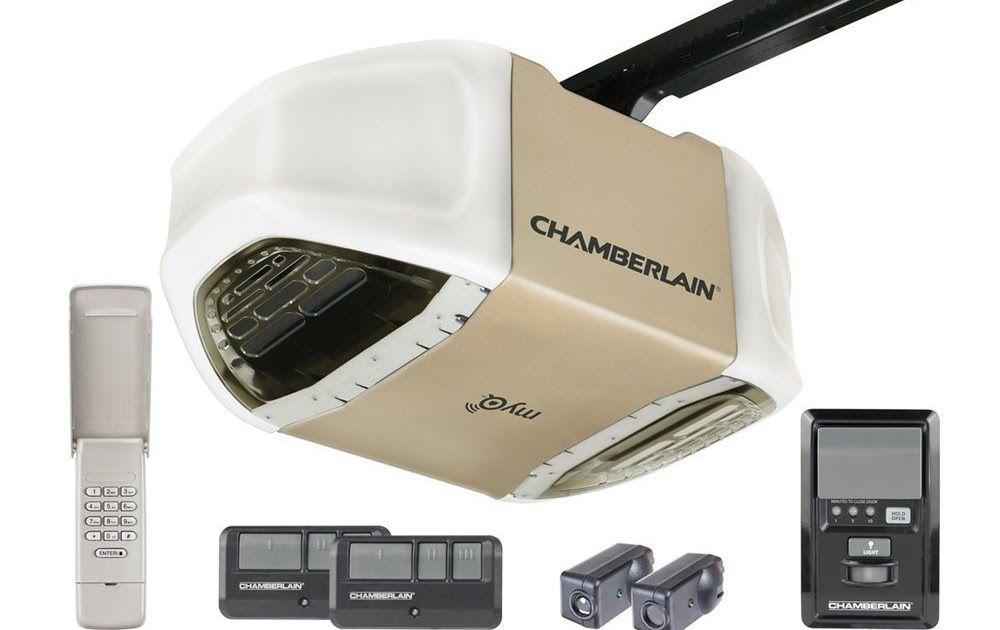 Chamberlain 1 2 Hp Myq Belt Drive Garage Door Opener Garage Doors Myq Garage