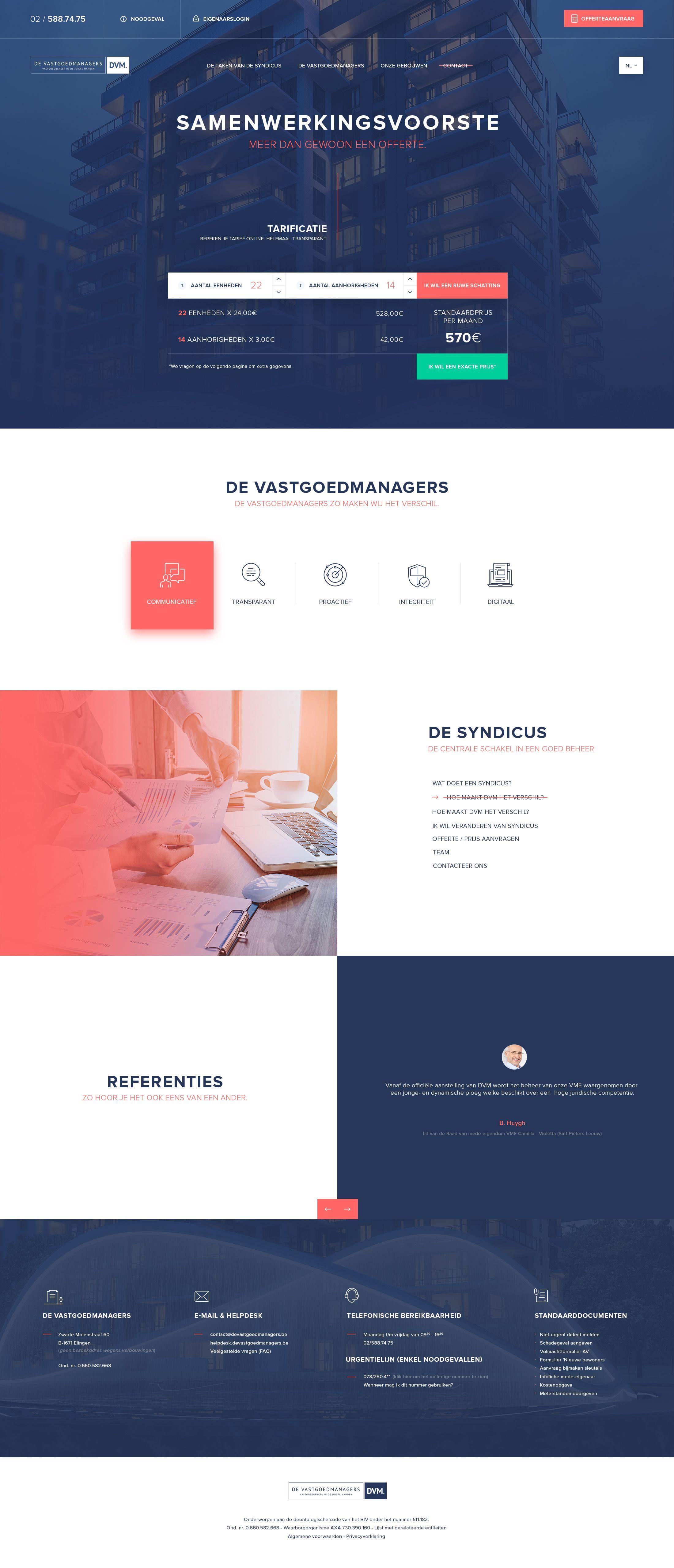 Dvm Homepage 03 08 2018 Calculation Web Layout Design Ux Web Design Web Design