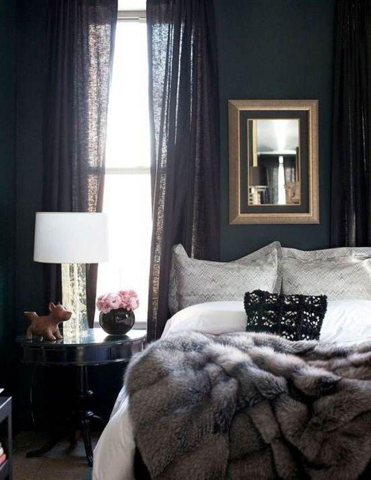 Deep colors adult bedroom ideas