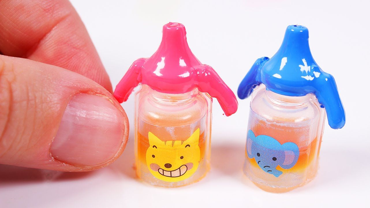 Diy Miniature Baby Sippy Cup Really Works Baby Doll