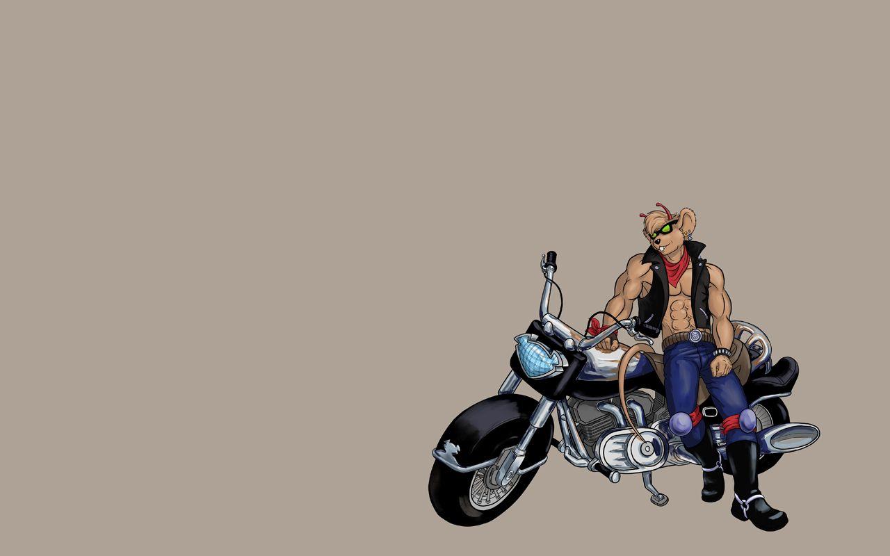 motorcycle biker mice - HD1280×800