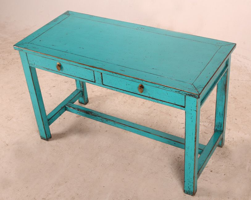 Small Turquoise Desk With Drawers Desks Turquoise Desk Desk With Drawers Black Iron Beds
