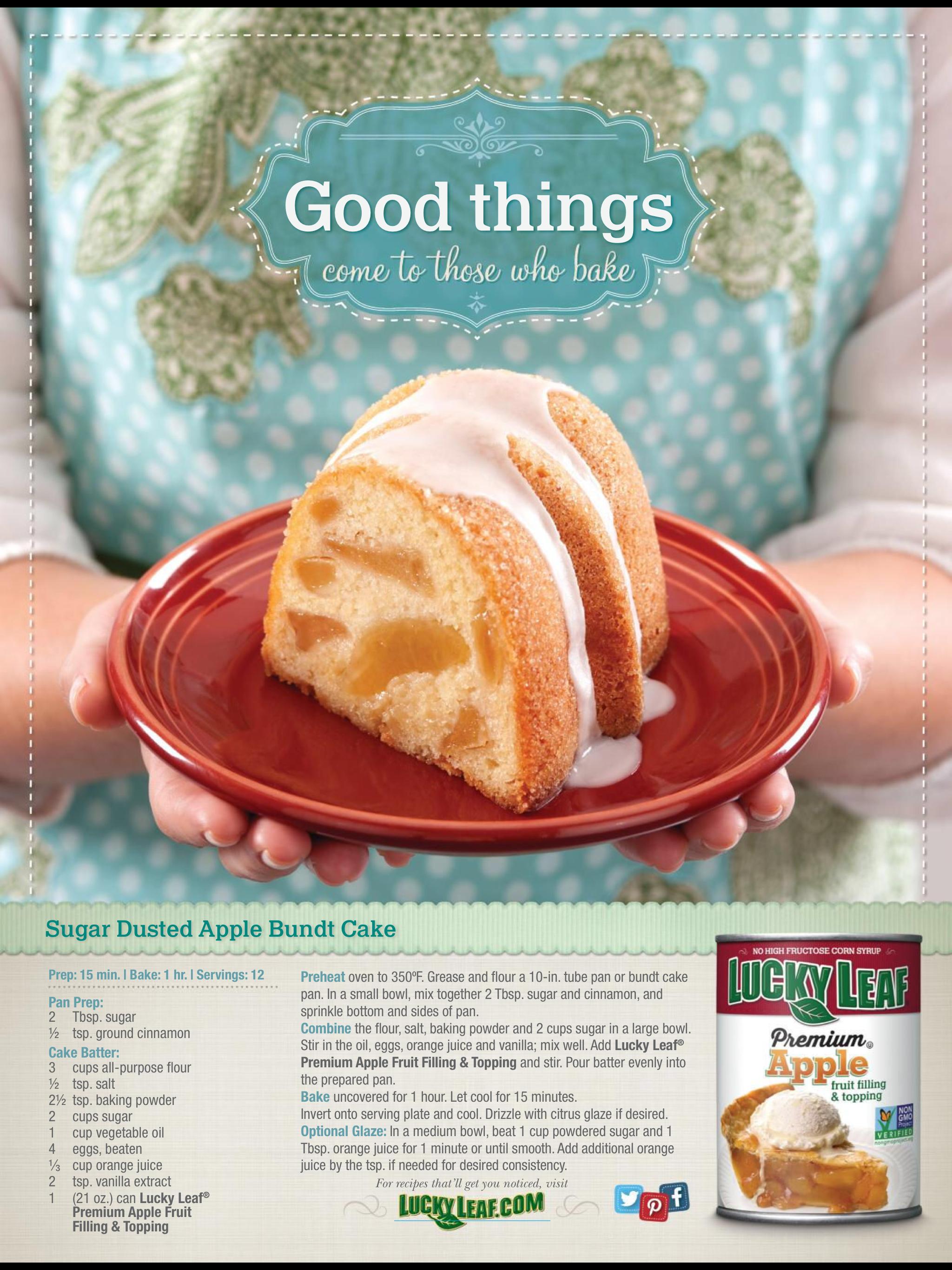Apple bunds cake