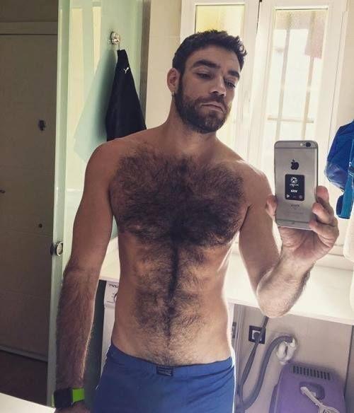 gay hairy man