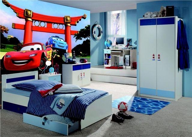 Habitaciones de ni os varones modernas buscar con google for Habitaciones infantiles disney
