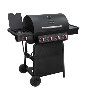 Broil King Regal 490 Pro 4 Burner Gas Grill With Side Burner Propane Gas Grill Gas Bbq Grilling