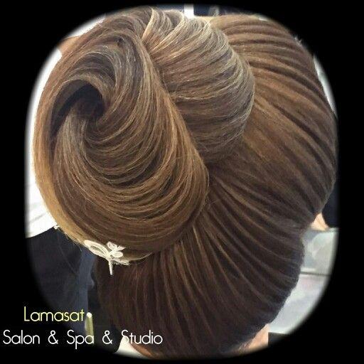 لمسات المختصة المبدع منى سراج Hair Styles Style Hair