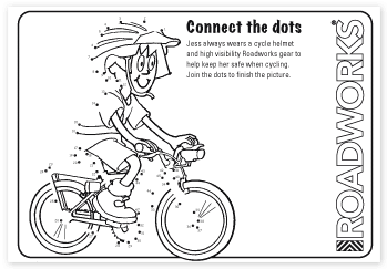 Colouring Page Elementary Safety Bicycle Safety Coloring Pages Super Coloring Pages