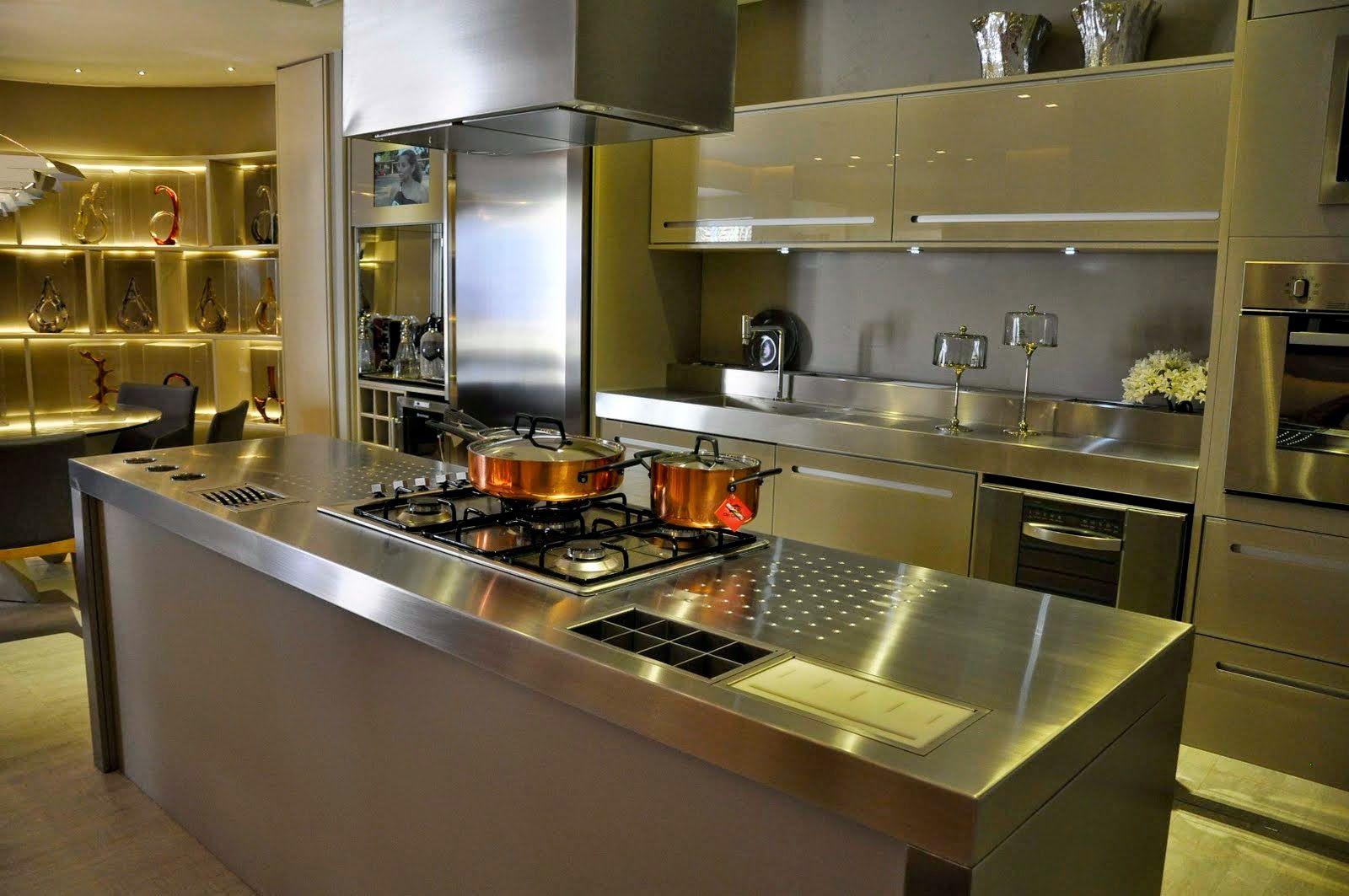 Cozinhas Com Ilhas Veja Dicas 30 Modelos De Ilhas De Coc O E
