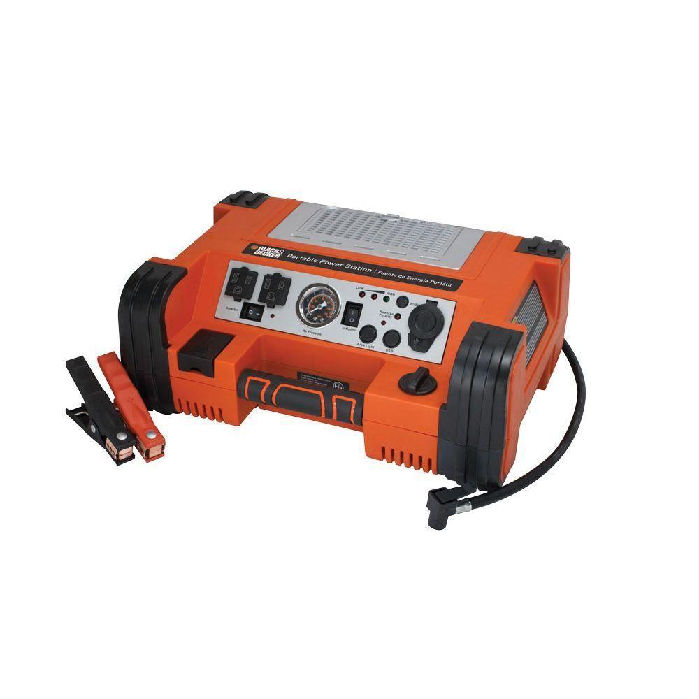 Blackdecker 500watt portable power stationpprh5b the