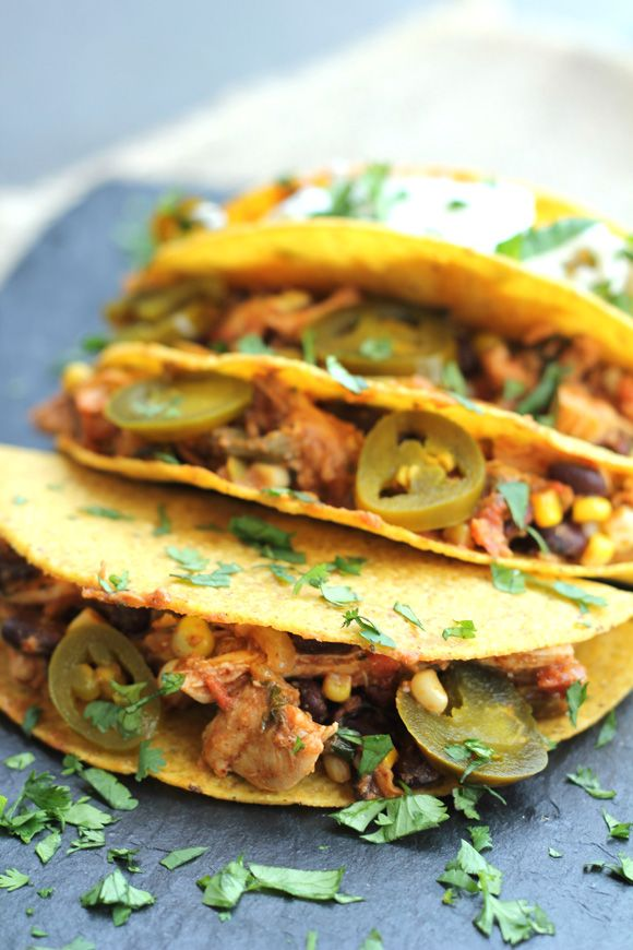 Pulled chicken tacos food pinterest pulled chicken tacos pulled chicken tacos forumfinder Gallery