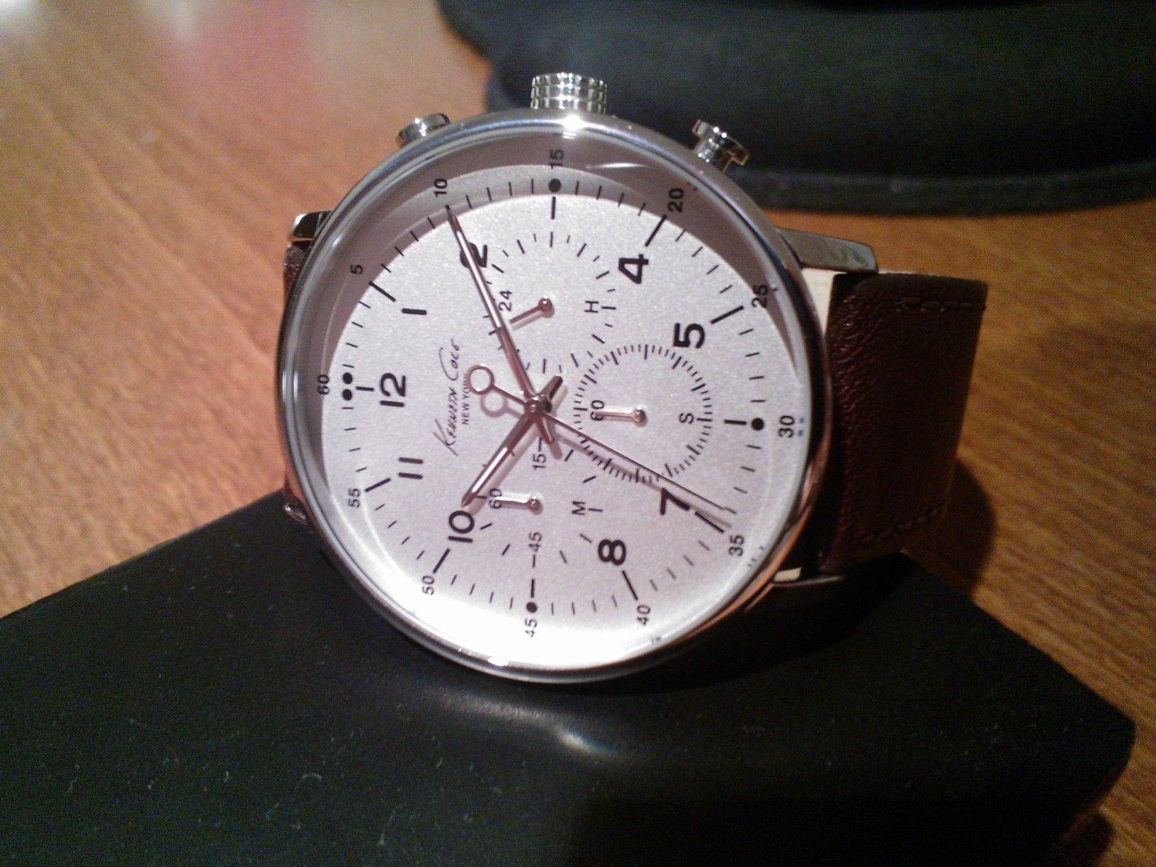 FS: Kenneth Cole KC1568 Chronograph w/ Box & Papers