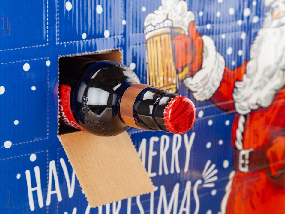 DIY Beer Advent Calendar | Surprise a Beer Lover - CoolStuff.com #wineadventcalendardiy DIY Beer Advent Calendar | Surprise a Beer Lover - CoolStuff.com #wineadventcalendardiy