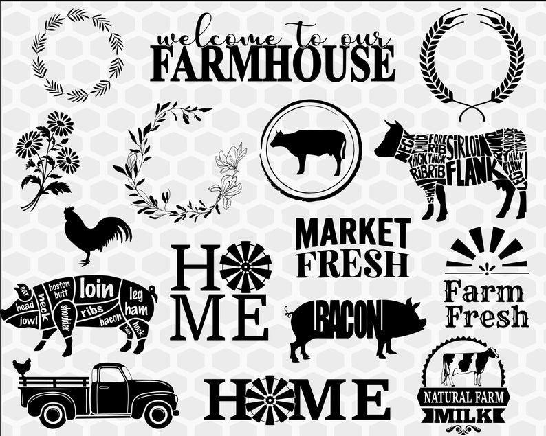 Download Farmhouse svg bundle farm svg farm life svg farm svg ...